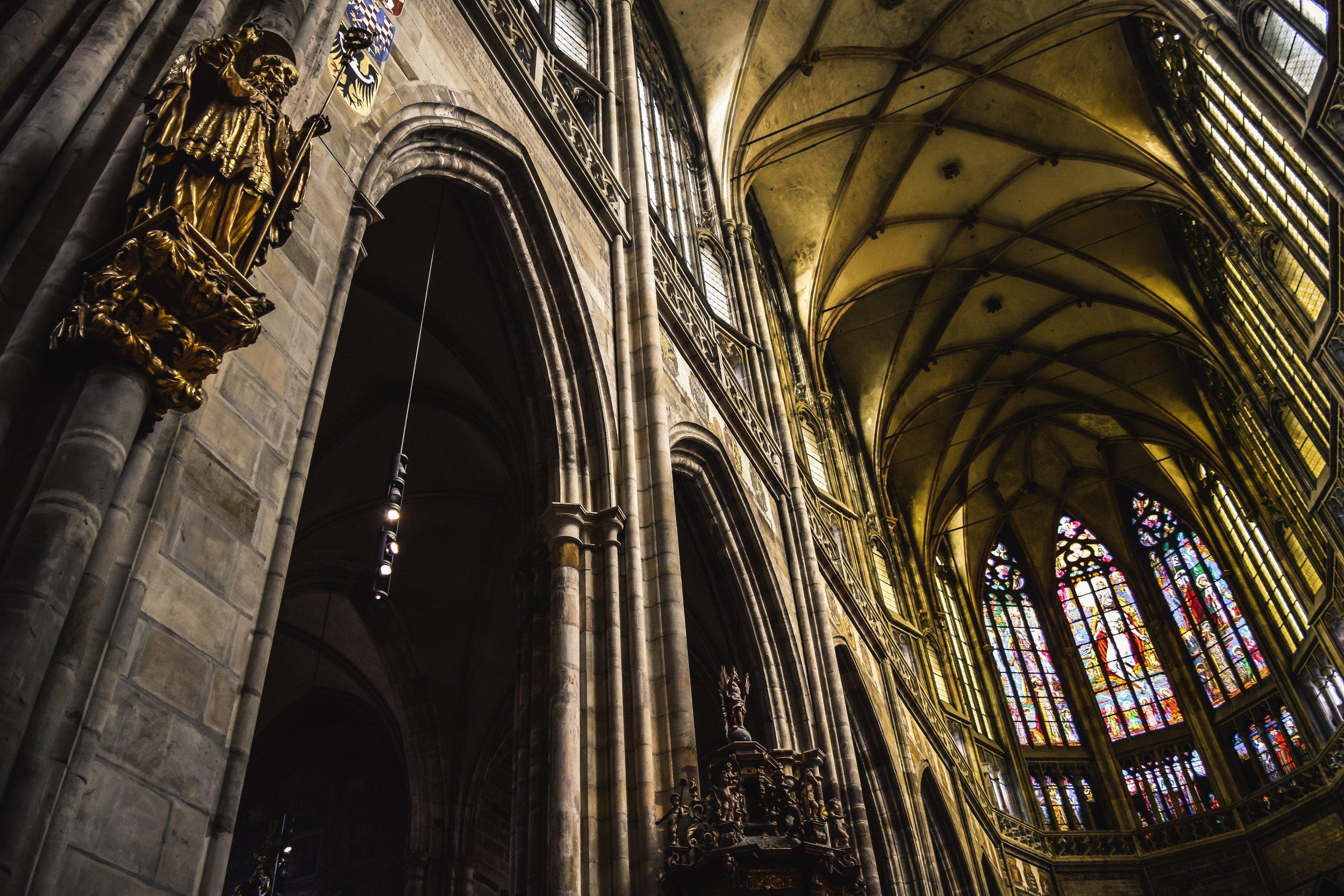prague castle inside St. Charles