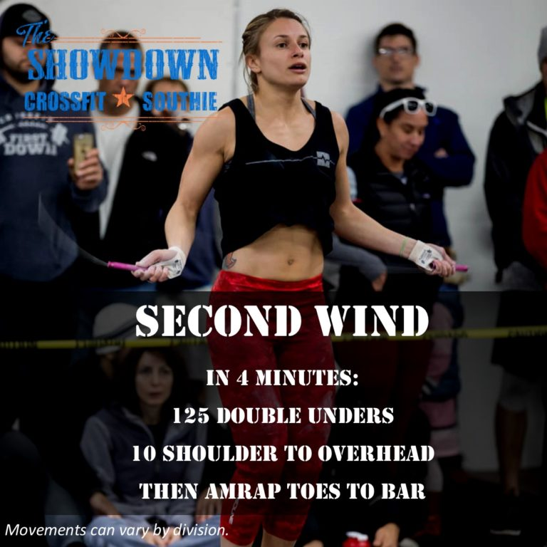 SECOND WIND CROSSFIT SOUTHIE SHOWDOWN 2017