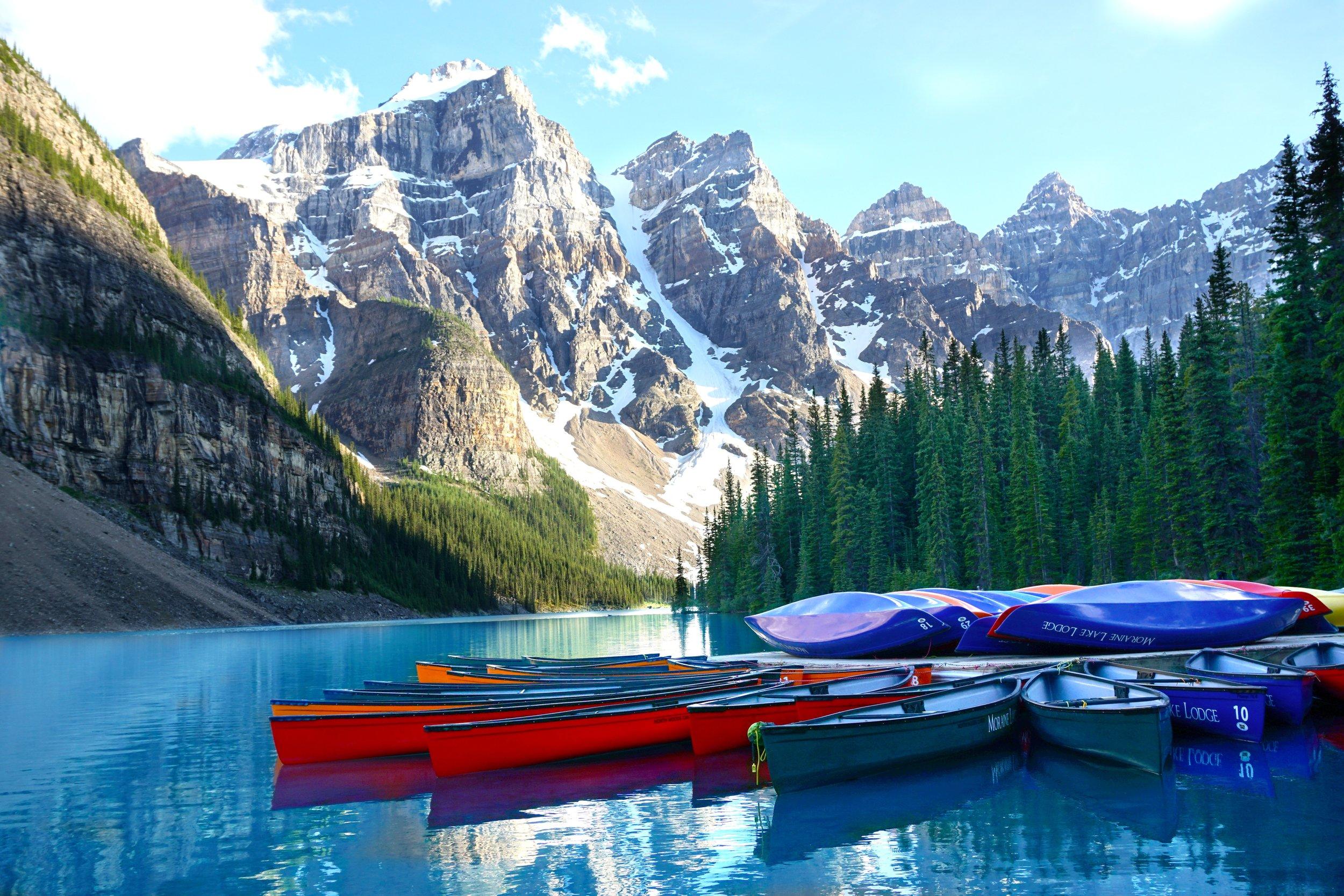 Banff National Park in Alberta Canada