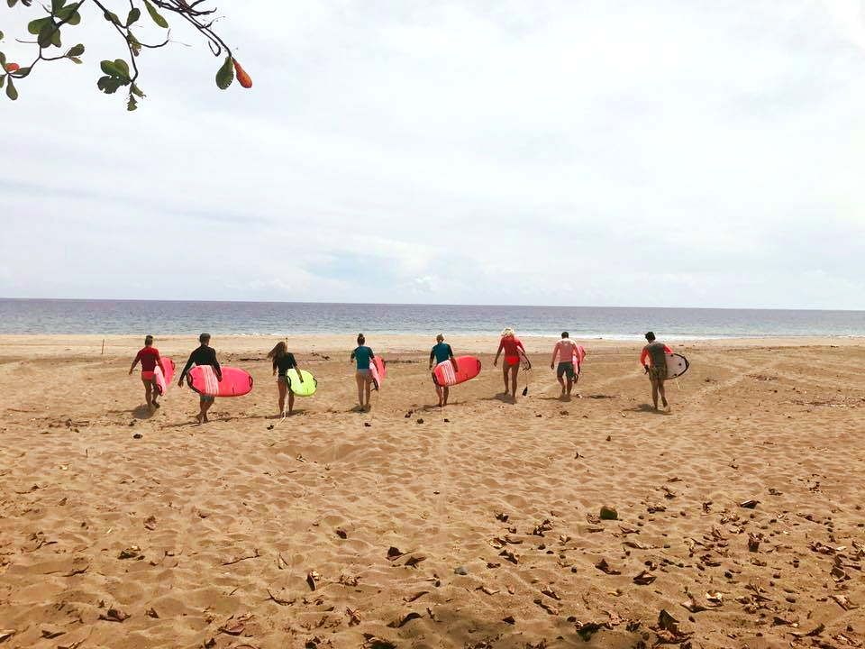 Group surf lessons with VoyEdge RX!