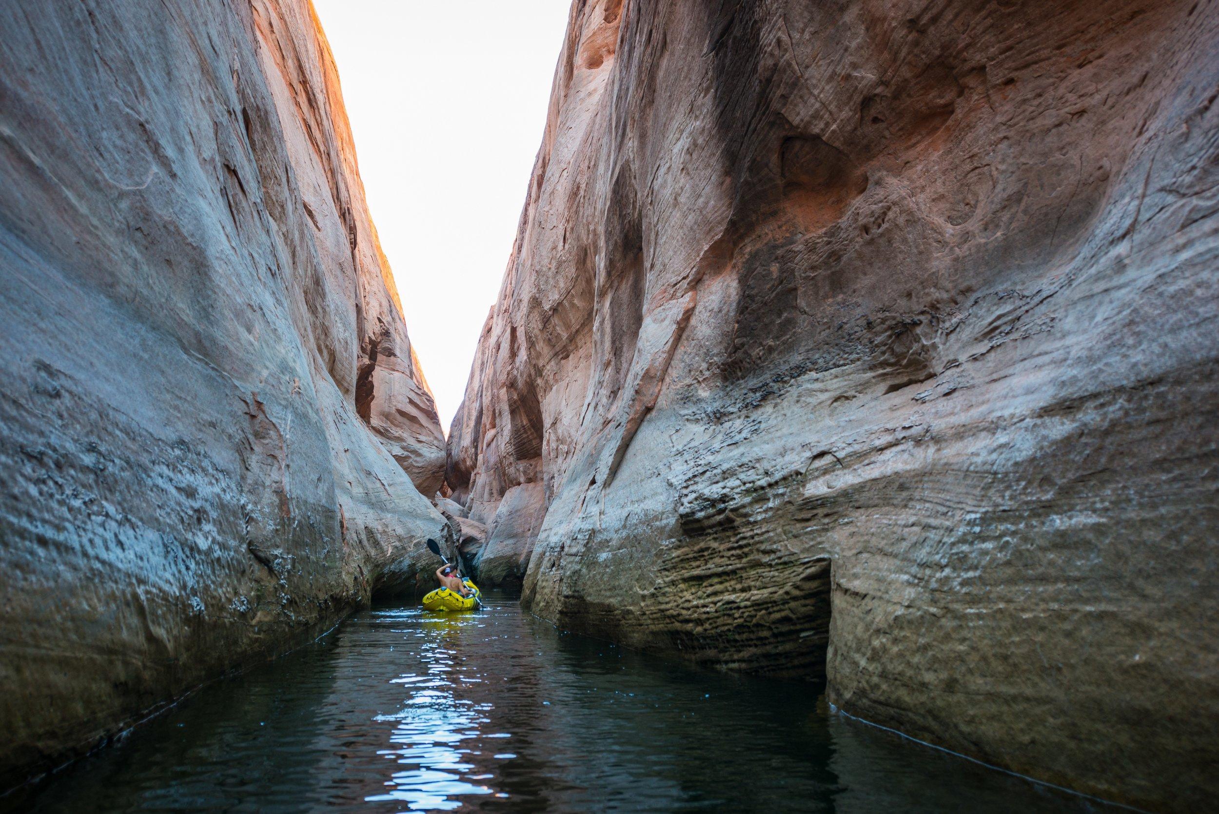 Hidden Canyon Kayak tours through Antelope Canyon