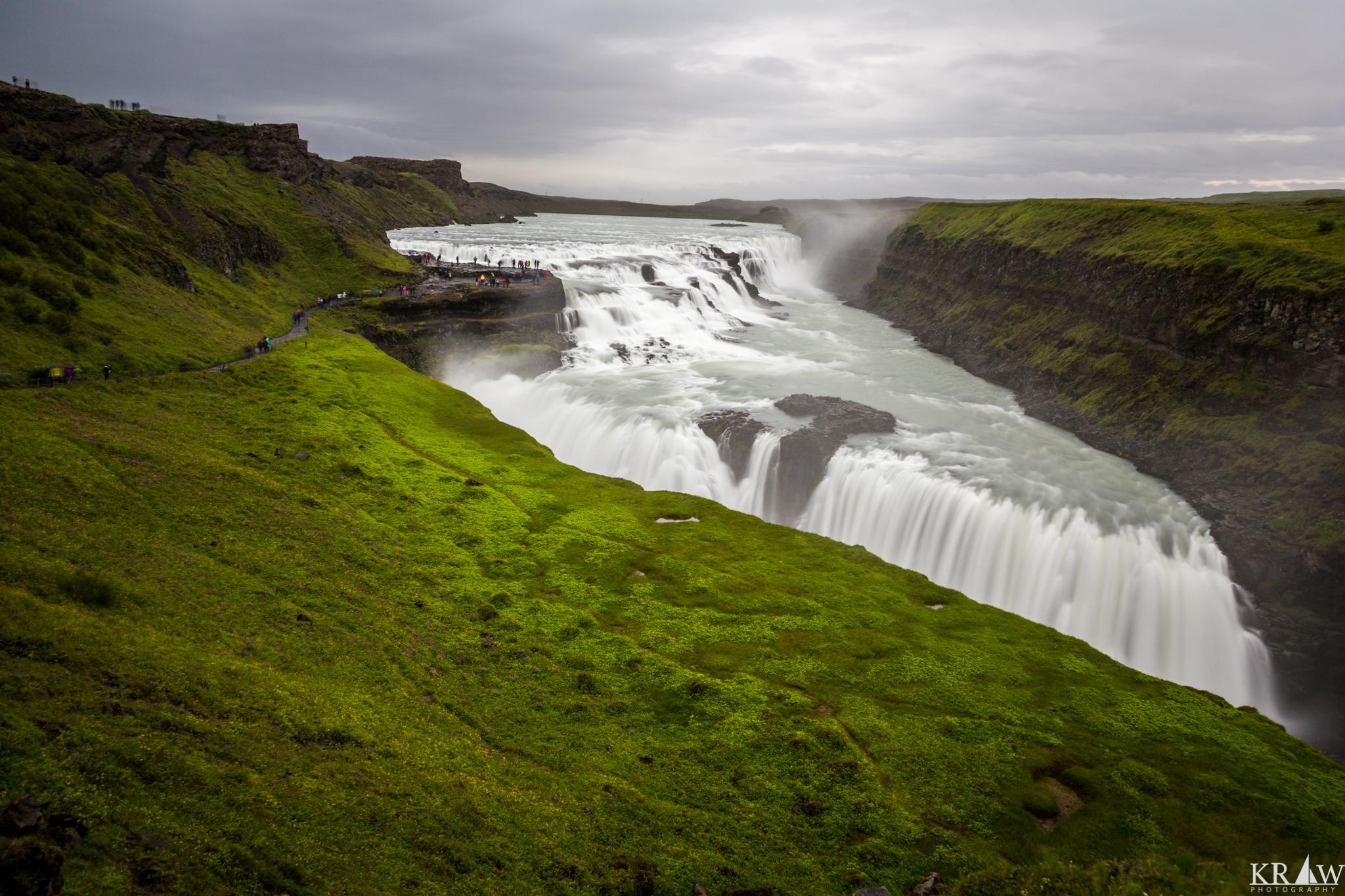 gulfoss waterfall iceland voyedge rx
