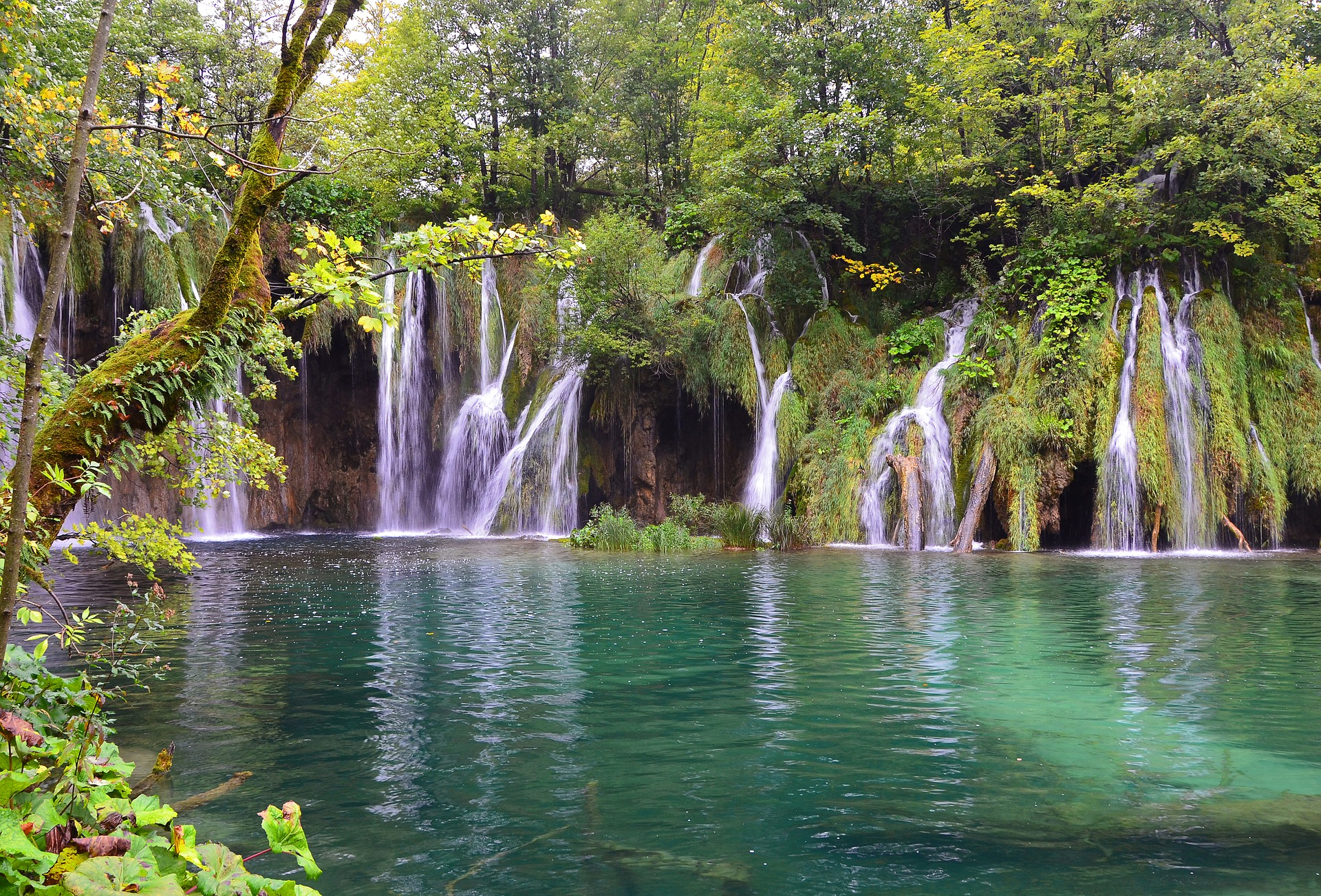 Plitvice National Park in Croatia