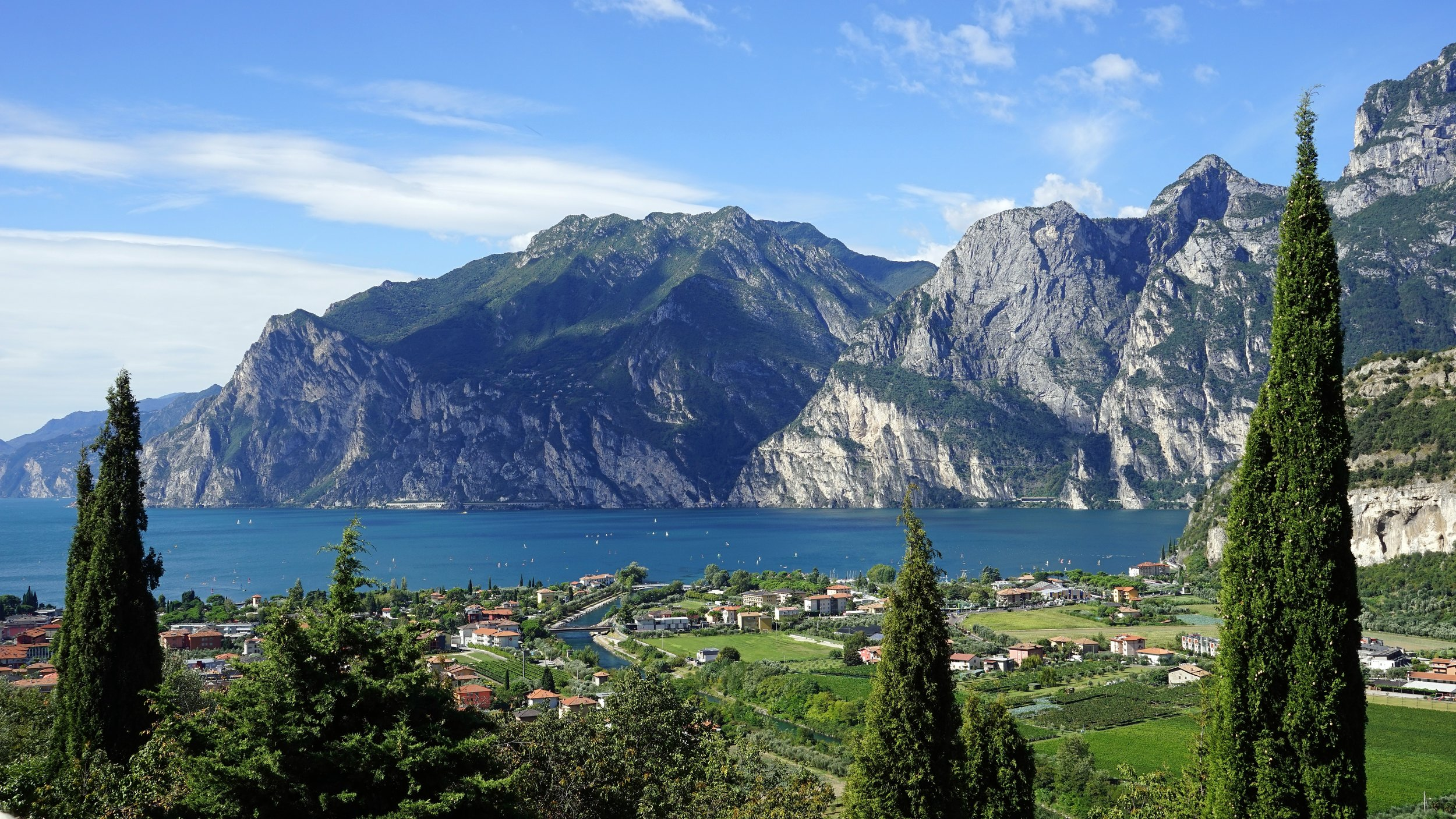 Lake Garda - Italy's biggest lake and home to some amazing landscapes.