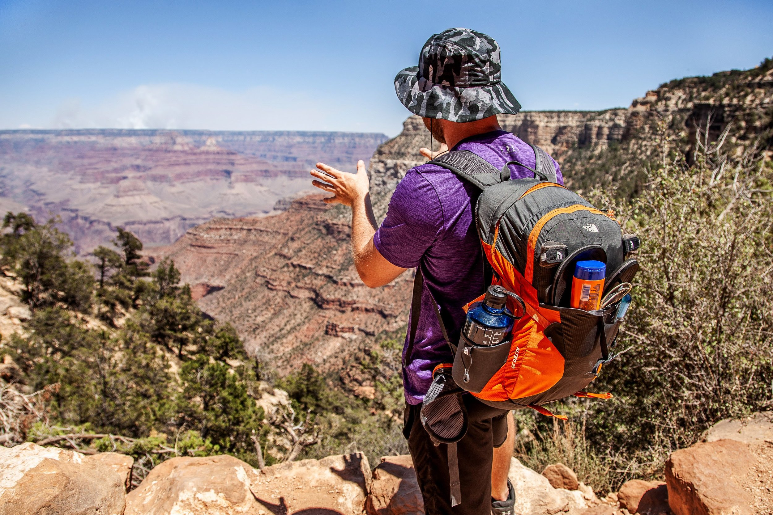 Jack Murphy on our U.S. National Parks 2018 trip