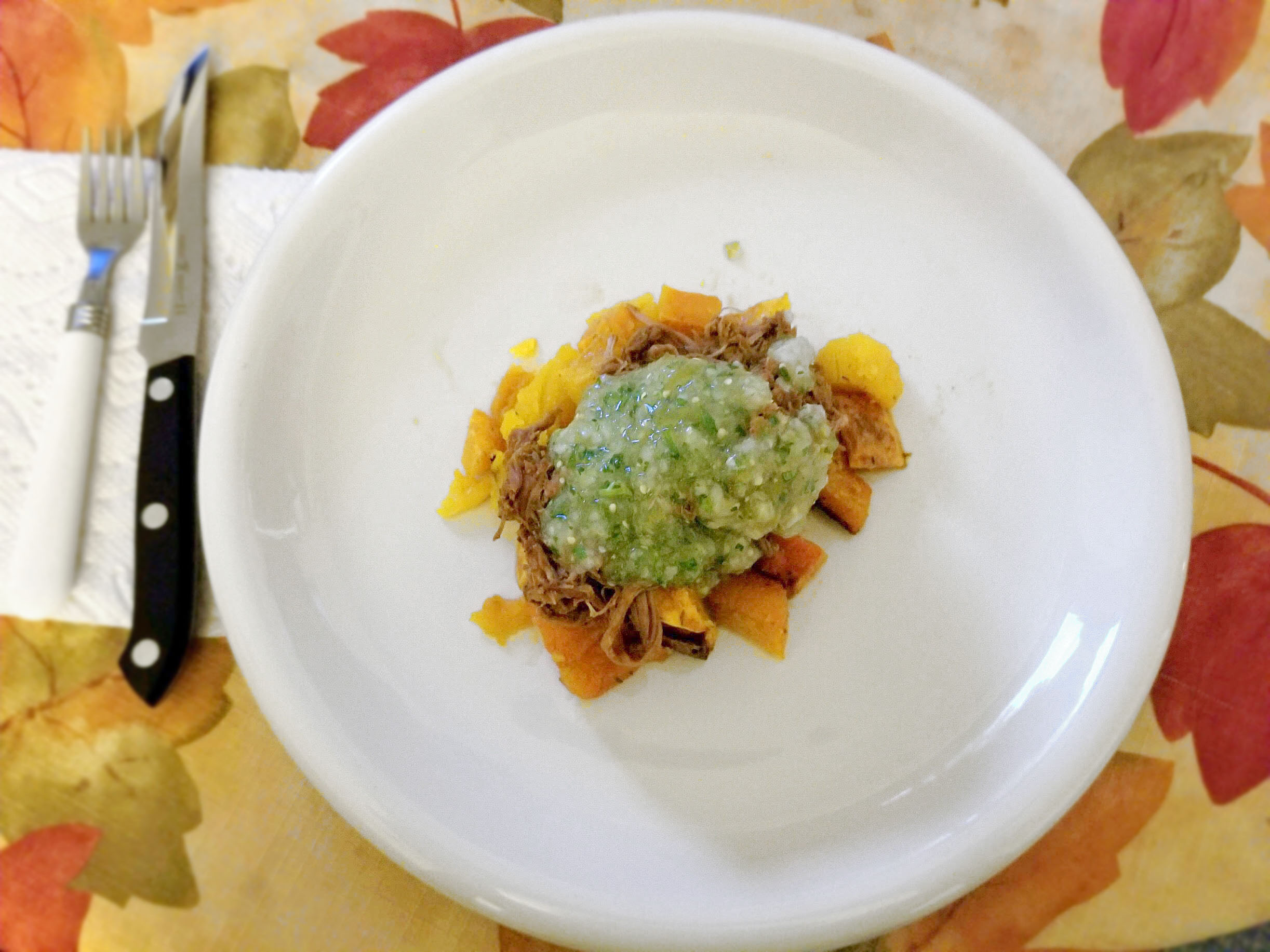 TOMATILLO PORK GREEN CHILE