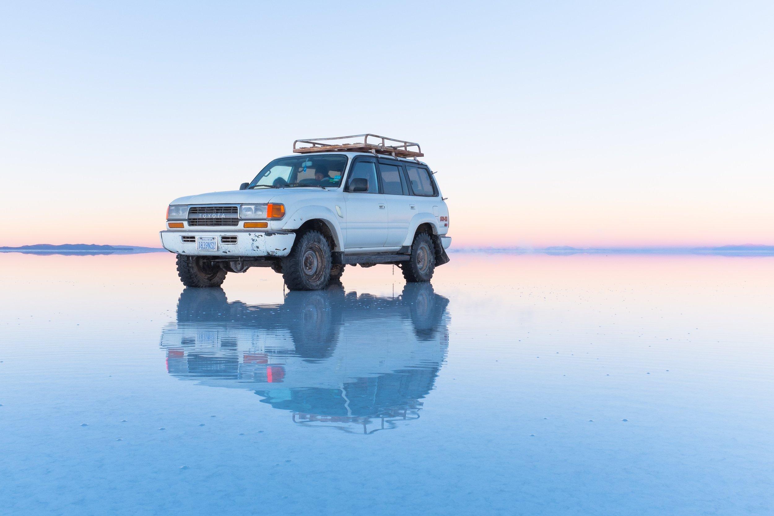 Salar de Uyuni - or Bolivia's Salt Flats