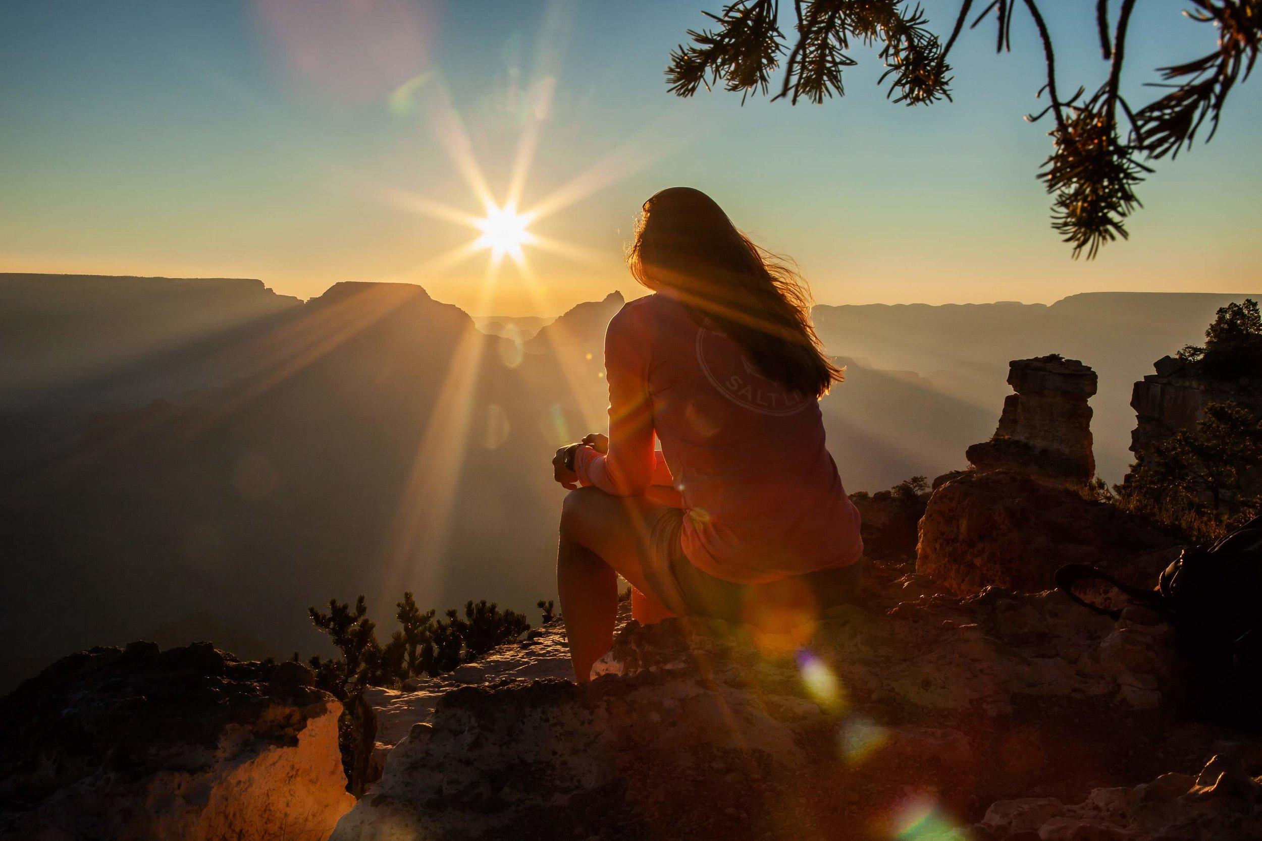 yaki point sunrise hike