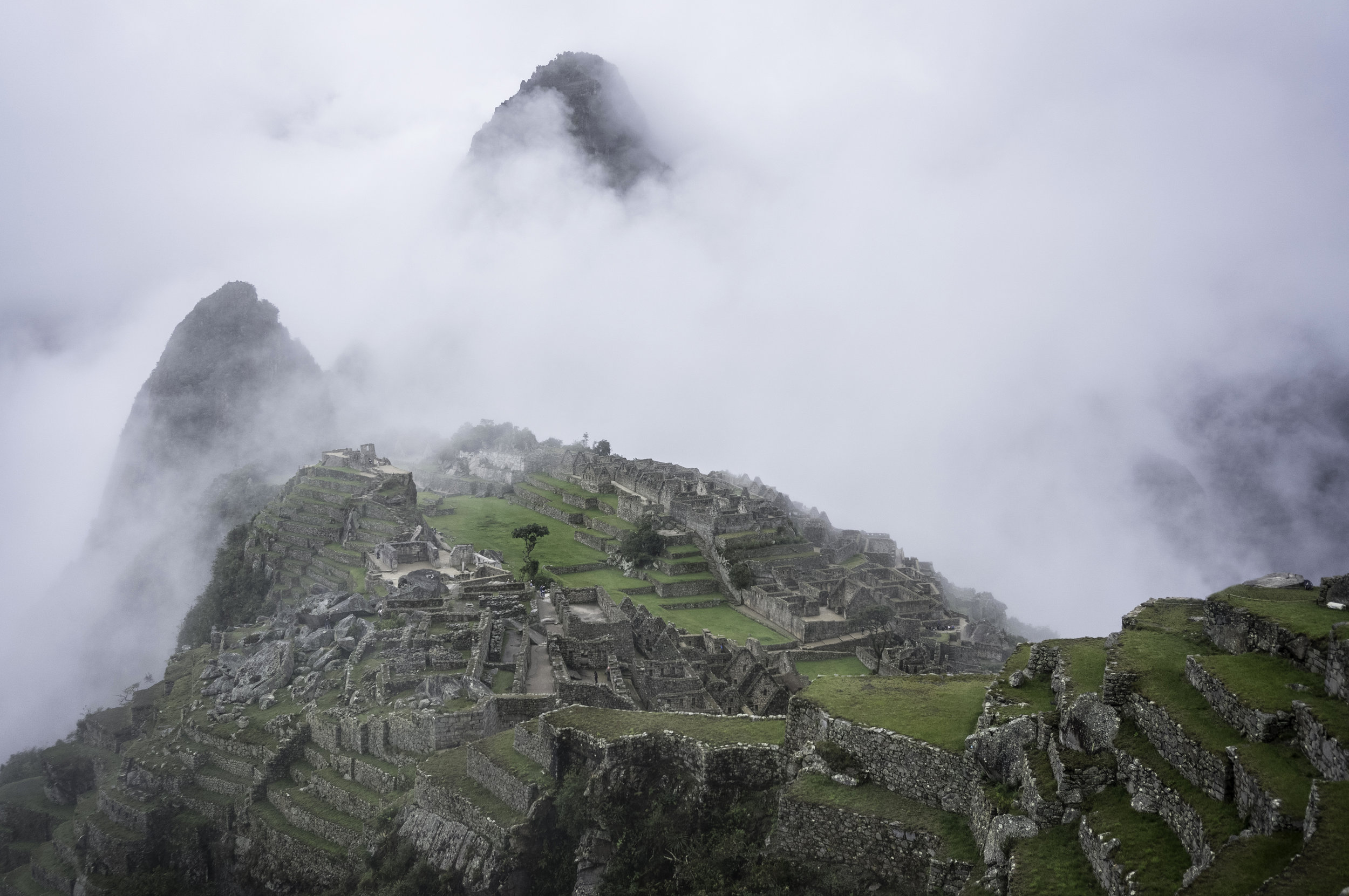 Machu Picchu at 6 am