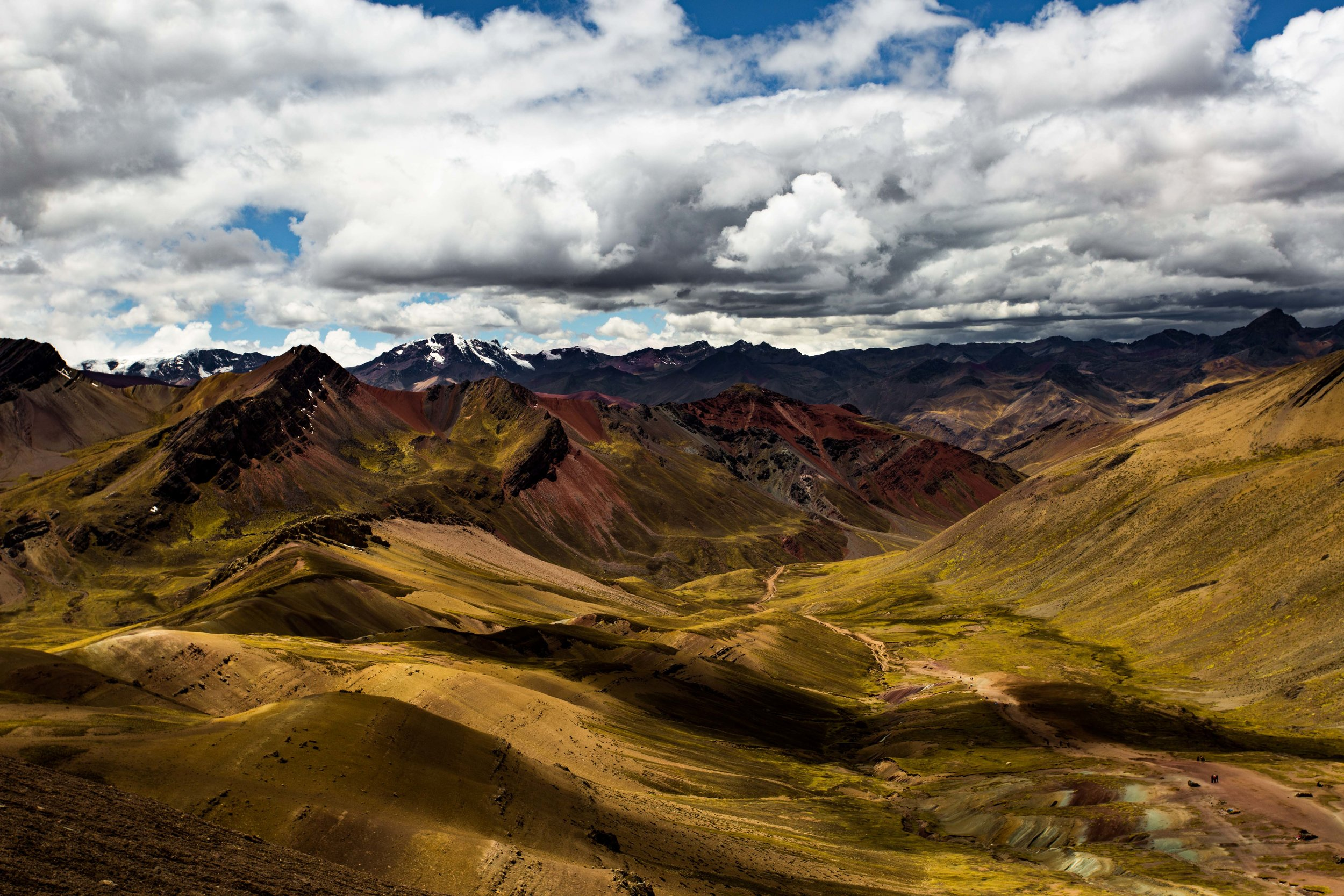 Welcome to the Peruvian Andes