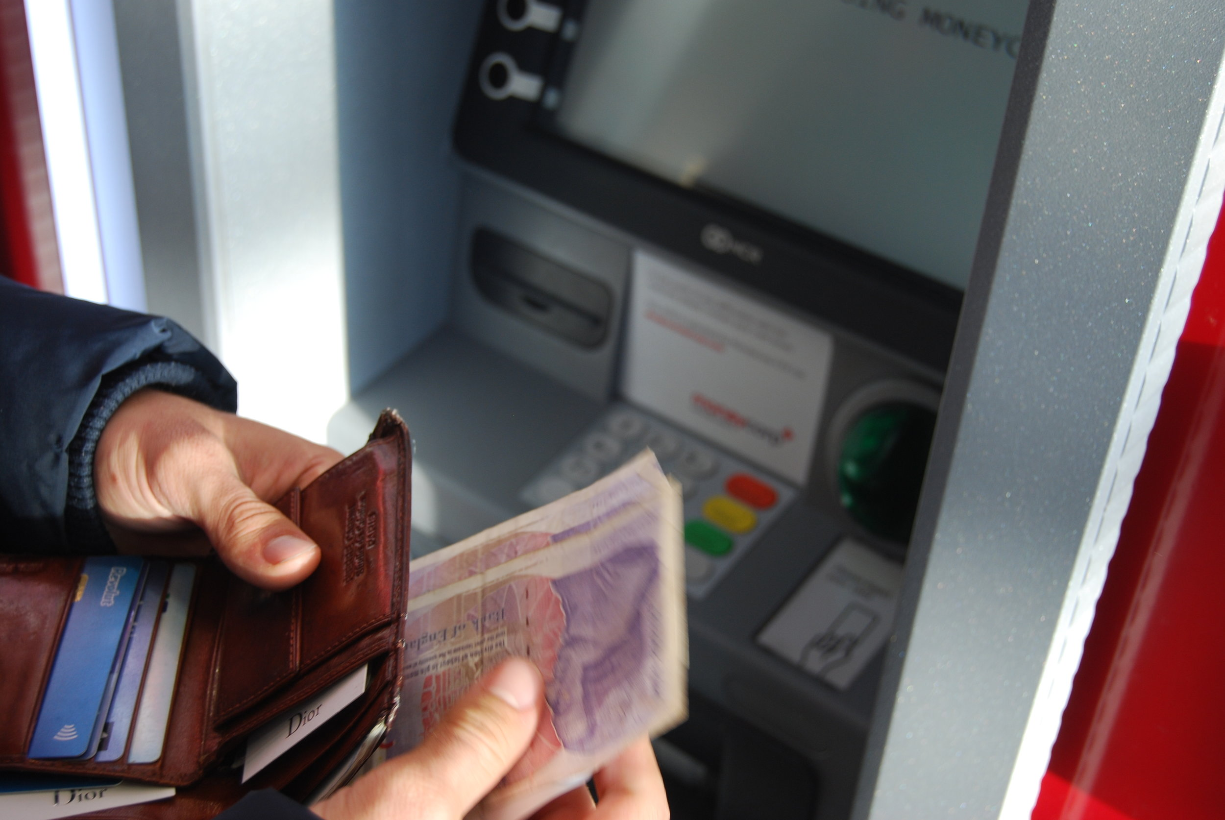 ATM's will always be your best bet for withdrawing money. ALWAYS!