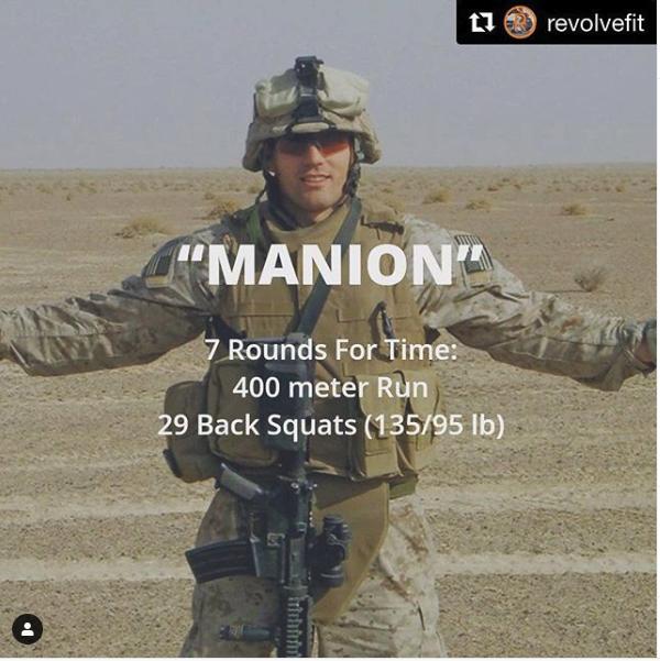 Travis Manion Workout