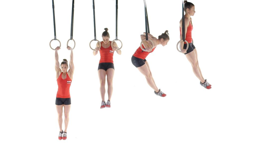 Strict Muscle Ups CrossFit