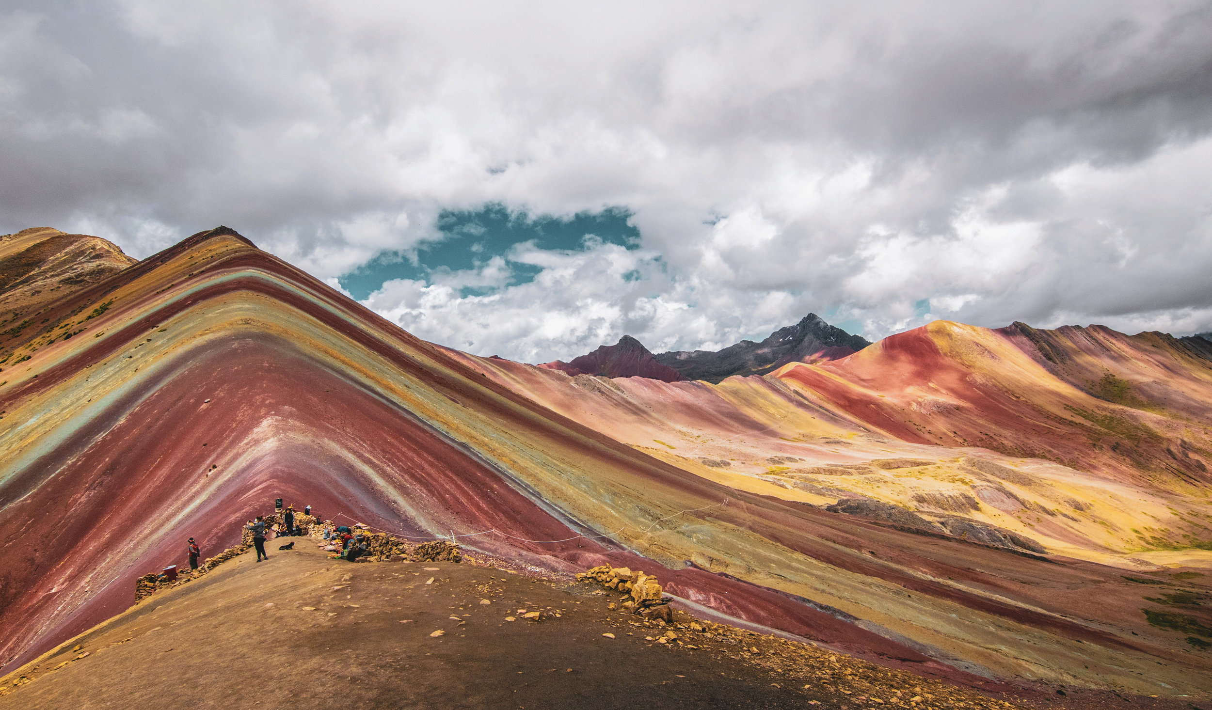 rainbow+mountain peru