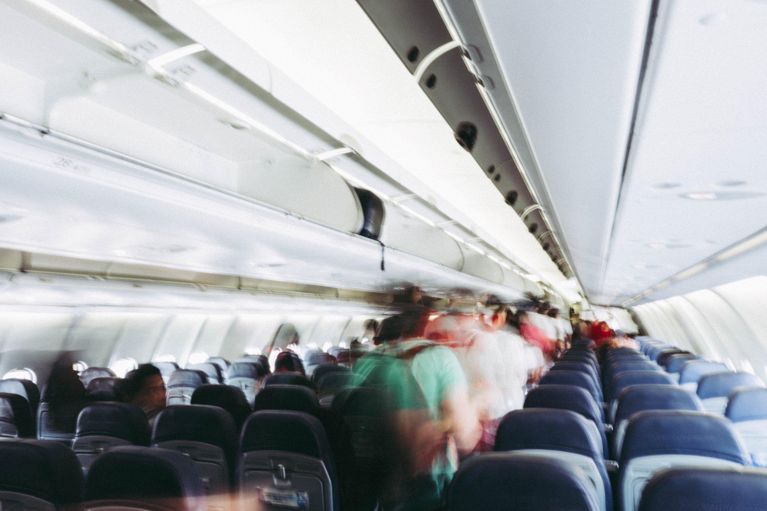 airplane beat jet lag