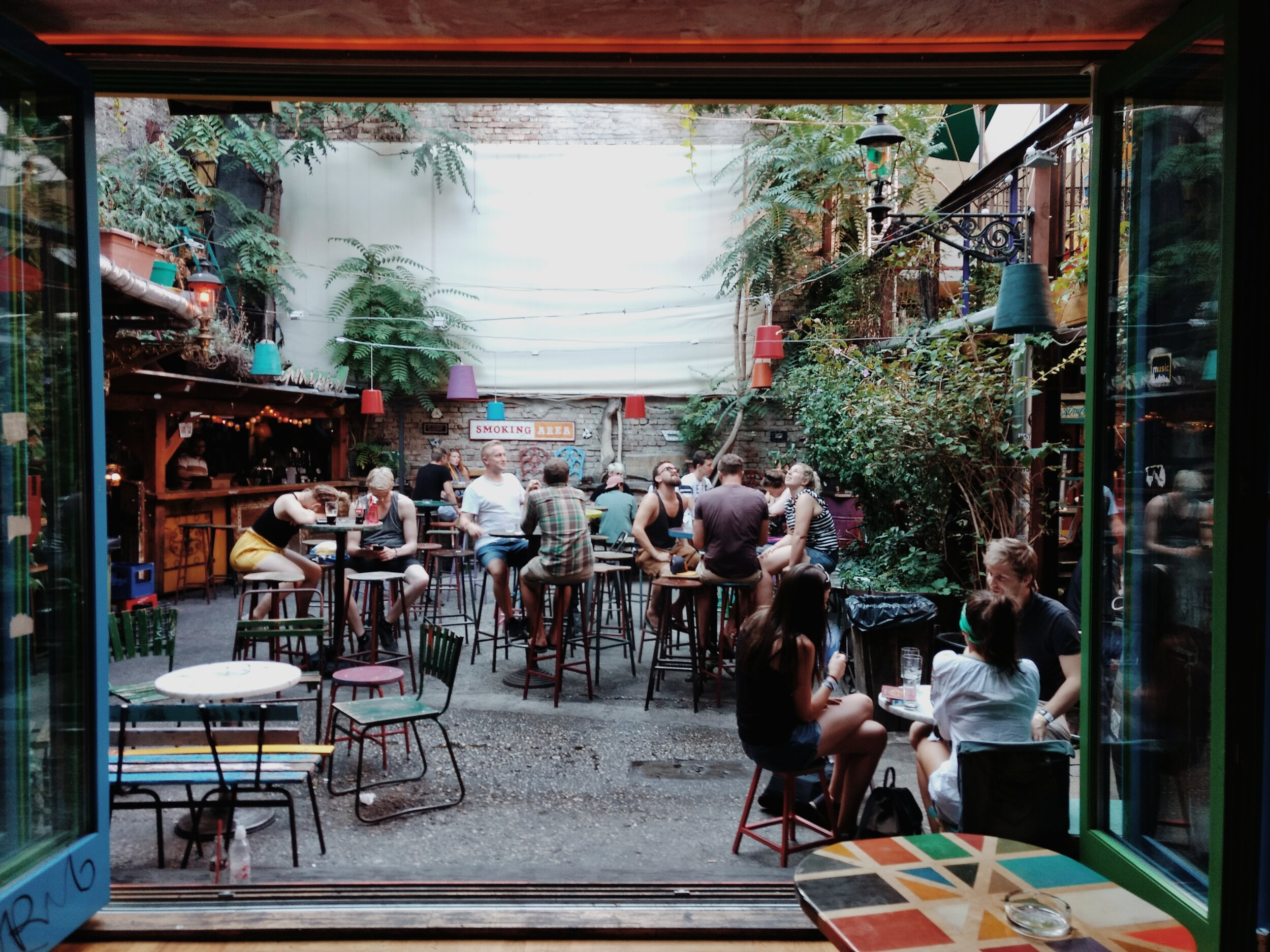 The 'Ruins Bars' of Budapest