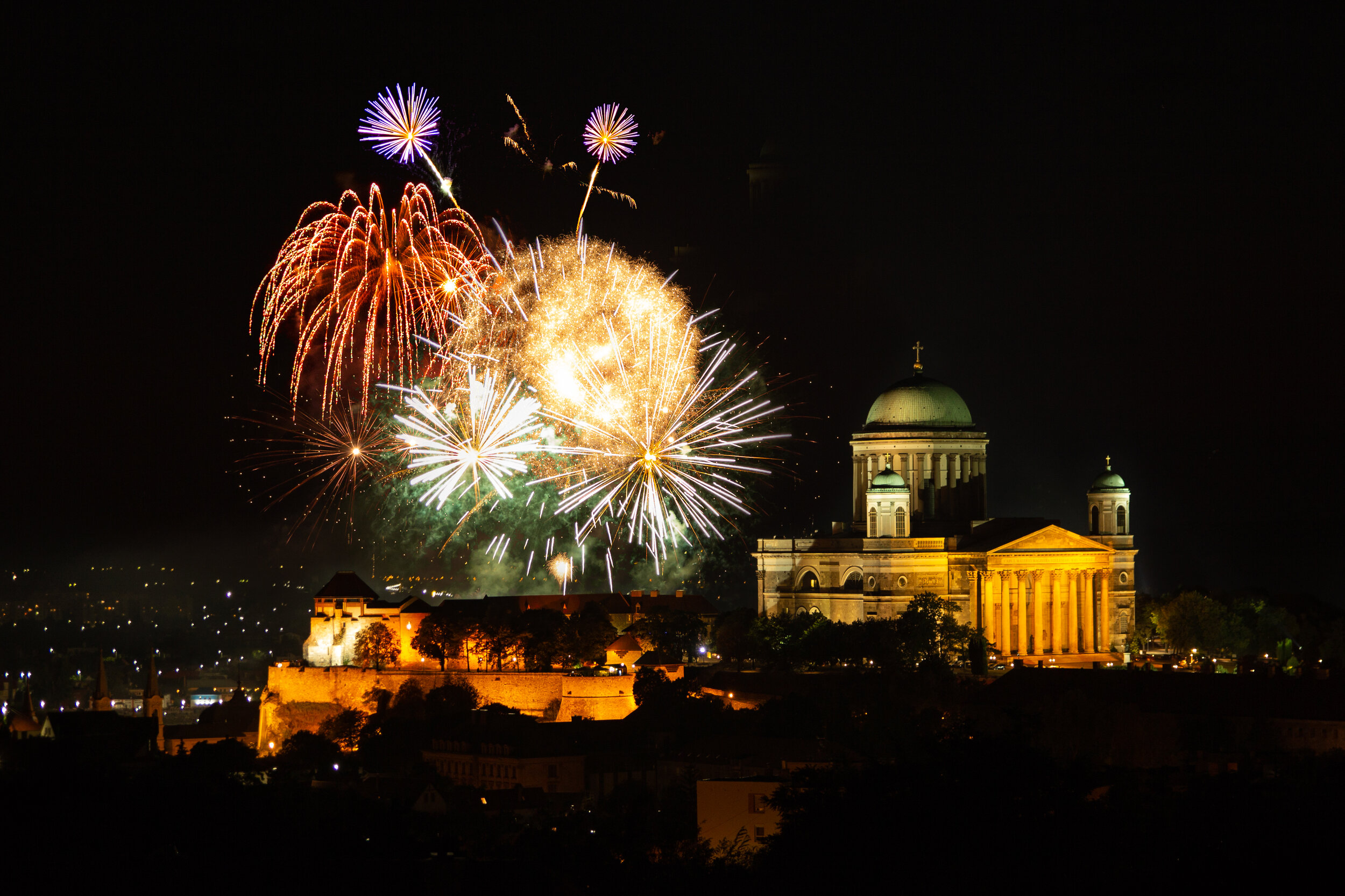 Esztergom, Hungary - once the capital of this country