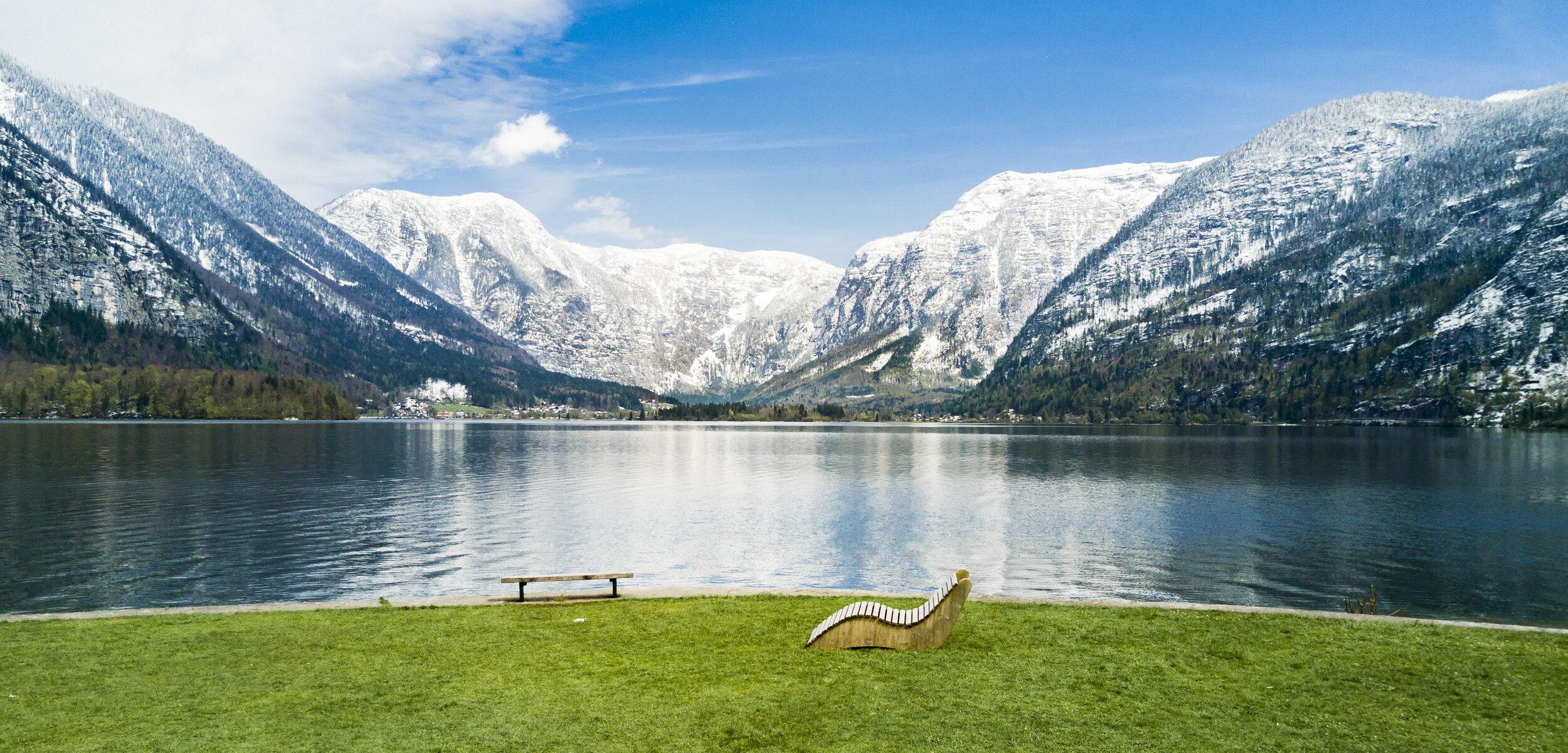 View of the lake from Hallstatt