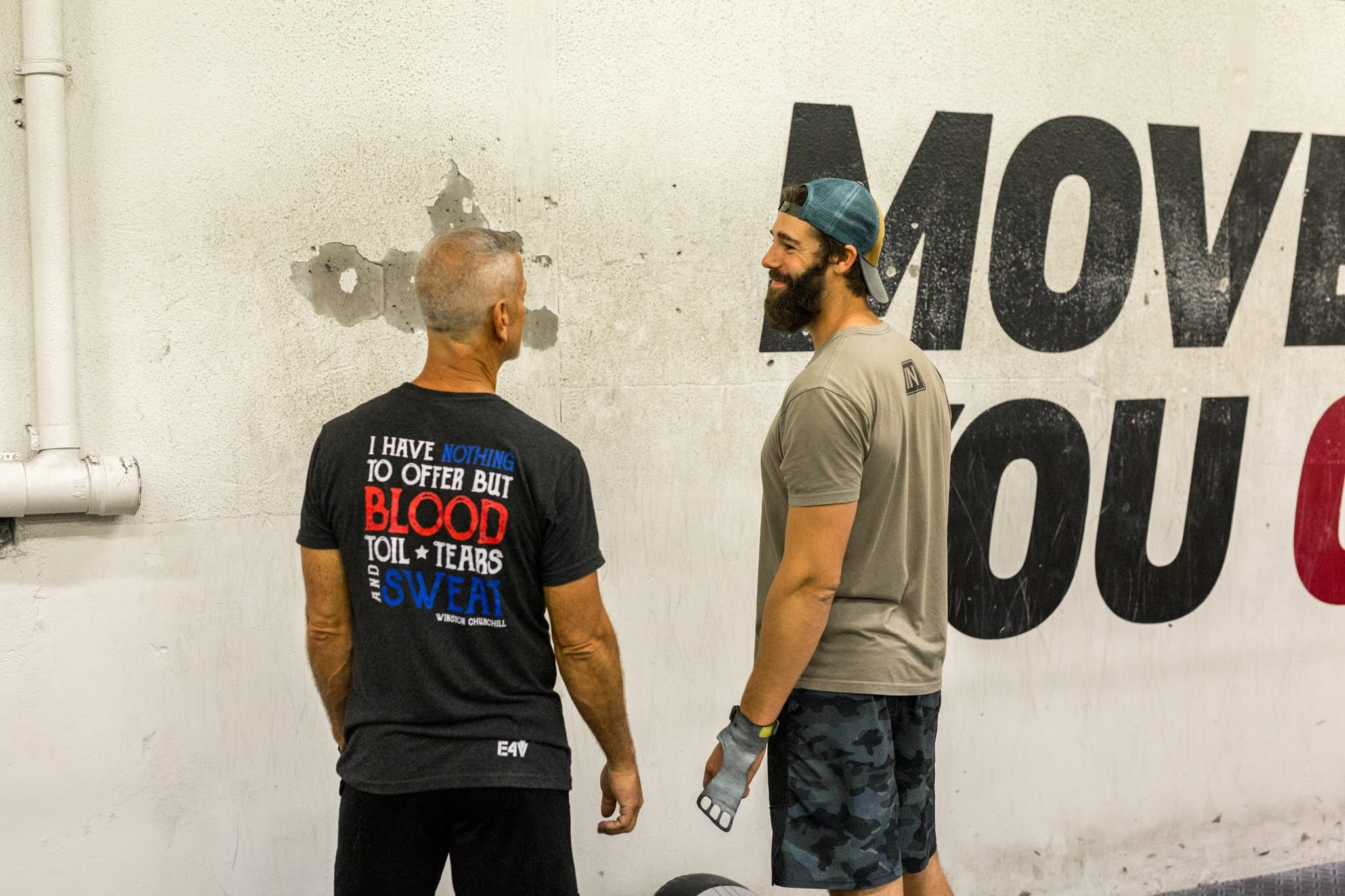 Support those in your community. Photo courtesy of: Kevin Walsh @CrossFit Reykjavik