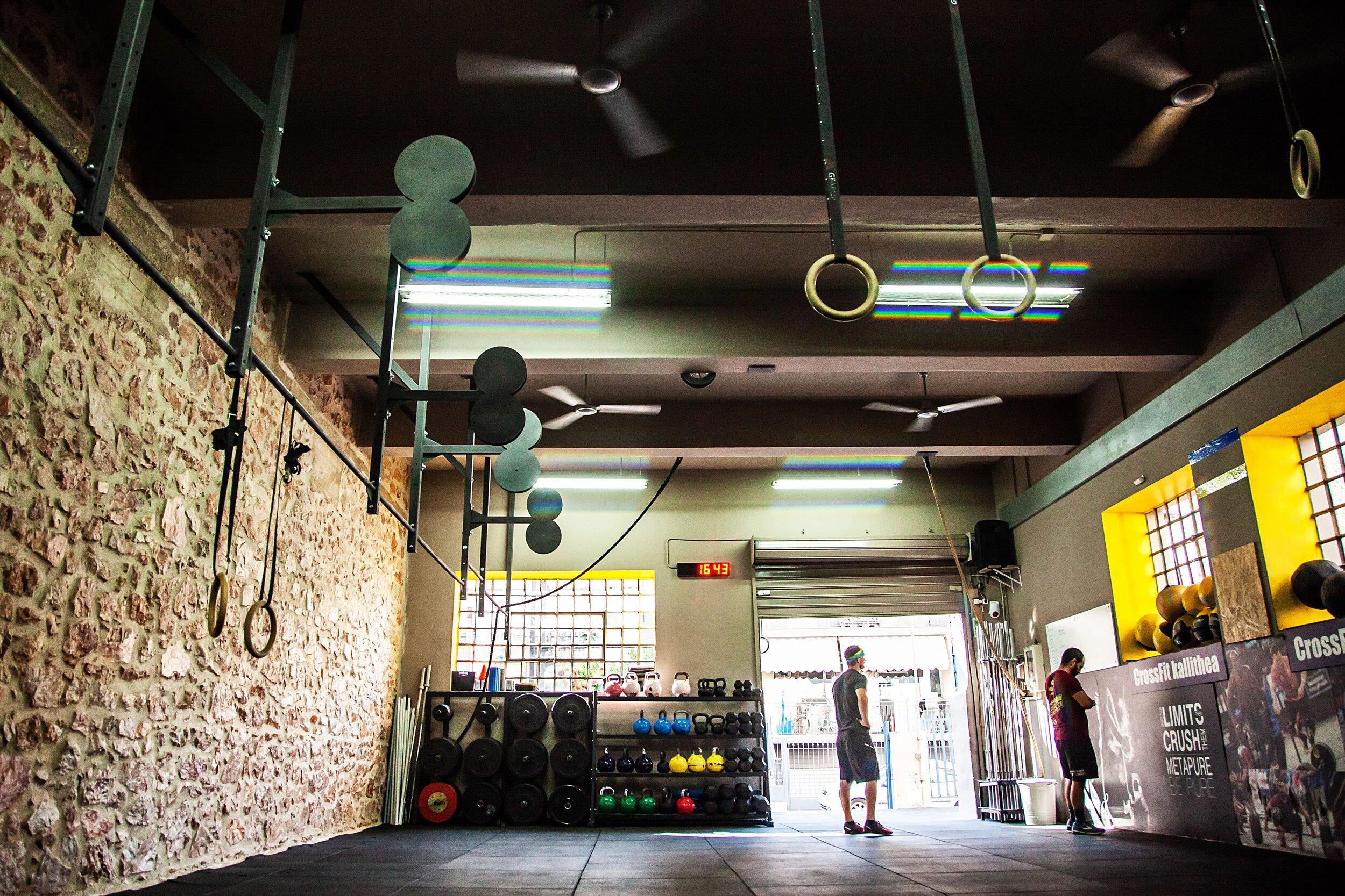 CrossFit Kallithea. Photo by: Sasha Preziosa in Athens, Greece 2018