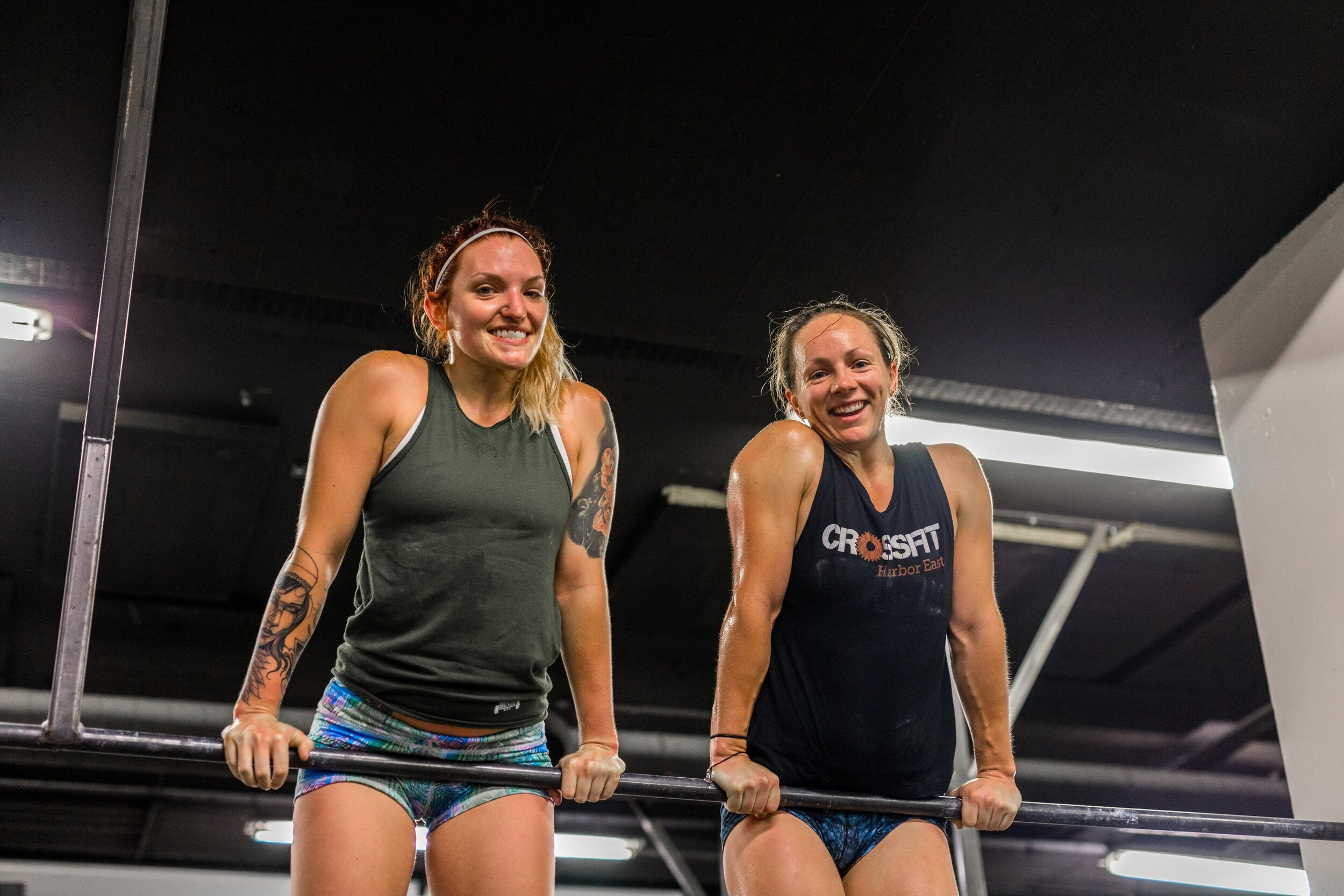 Photo finish by: Kevin Walsh at CrossFit Reykjavik in 2018