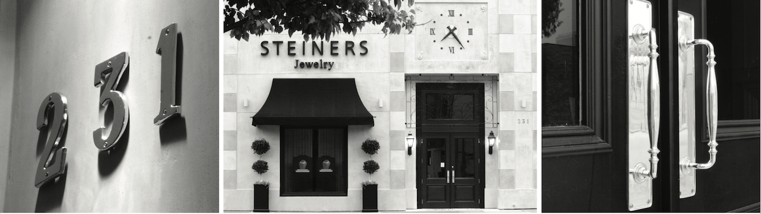 Steiners Jewelry - Header Image (outside store)