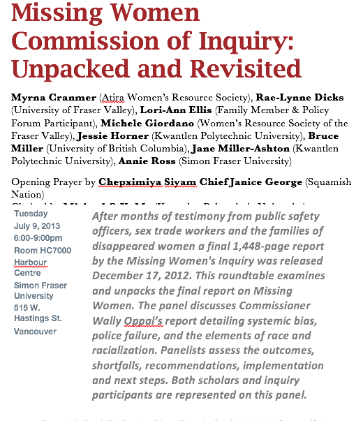 Missing Women Commission of Inquiry