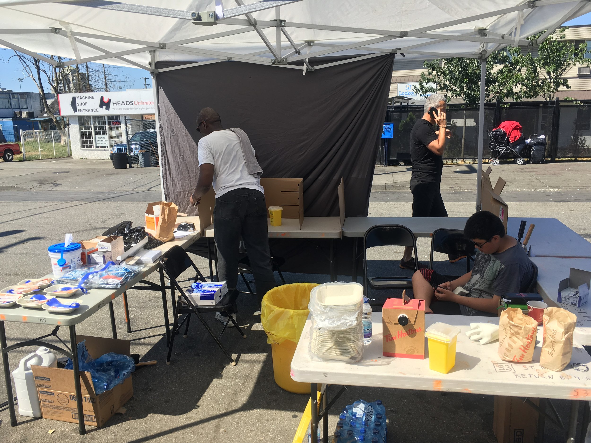Surrey Pop Up Safe Injection Site - July 27, 2016 (4).JPG