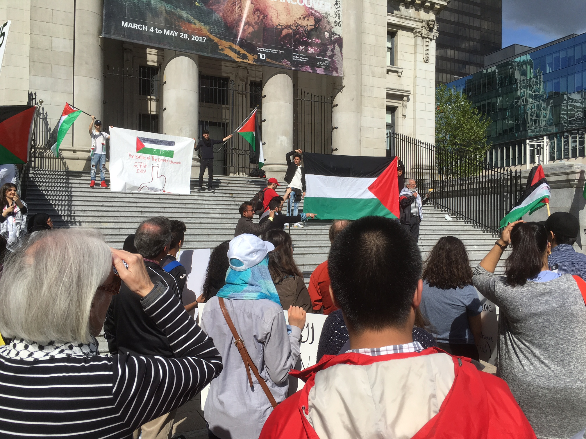 In Solidarity with Palestinian Prisoners - The Battle of Empty Stomachs - Art Gallery May 14 2017 (2).JPG