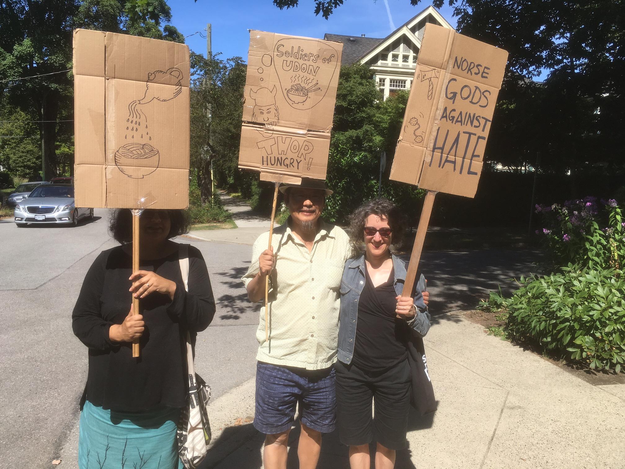 Anti racist protest pics - August 19, 2017 (2).JPG