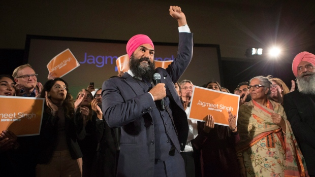 Jagmeet Singh wins NDP leadership race on first ballot - The Canadian Press - Chris Young, Oct 2017