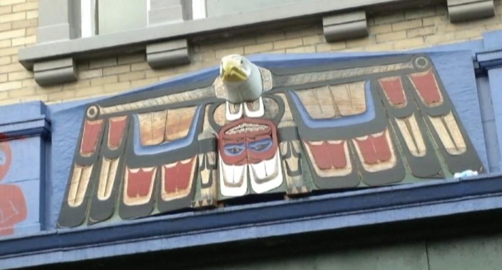 metro vancouver aboriginal executive council - Eagle facade.png