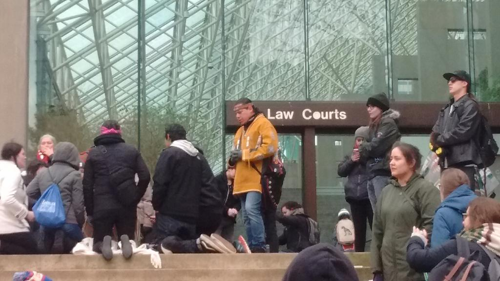 Justice for Tina Fontaine March and Rally Vancouver - Feb 24 2018 (7).JPG