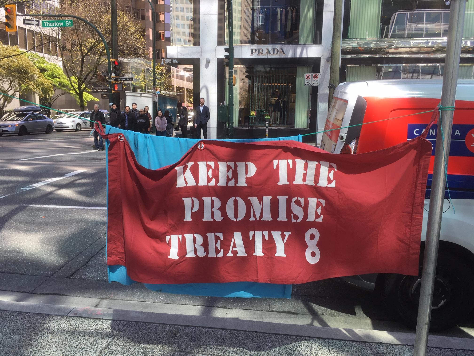 SNC-Lavalin Site C Protest - 745 Thurlow st. - April 12, 2019 (17).JPG