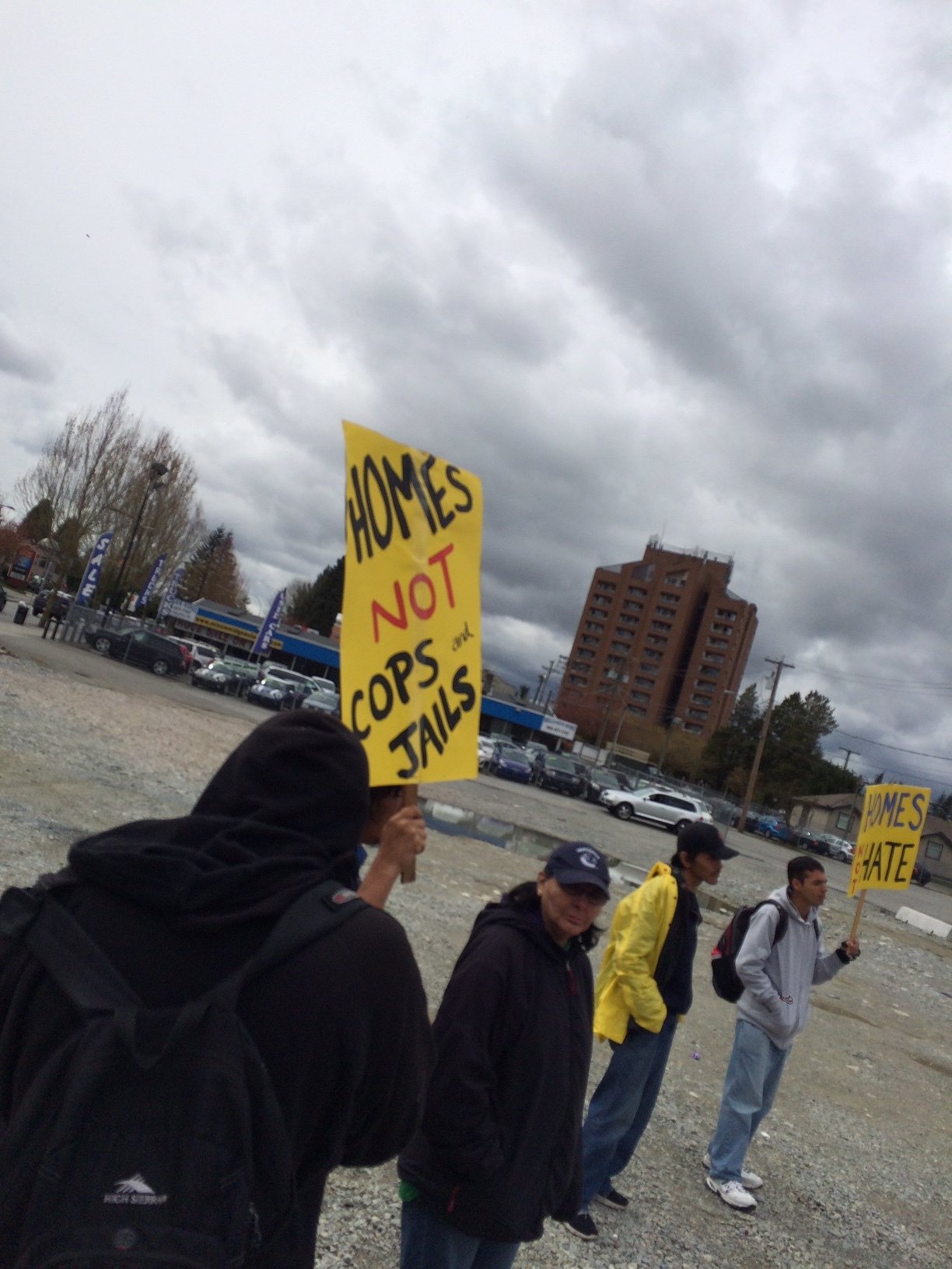 Homes Not hate rally in Maple Ridge - April 14 2019 (3).JPG