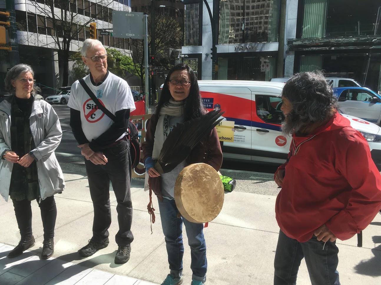 Rita Wong protest