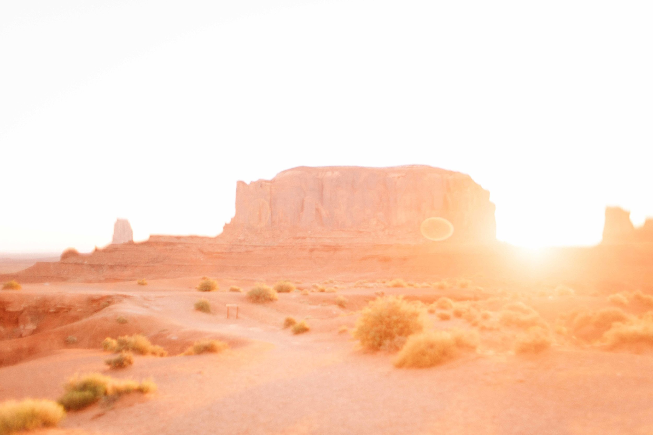 The next morning was another early one for sunrise, but so worth it. We went out to John Ford point inside of Monument Valley Park. It was just us and another couple there. Trust me, if you're wanting great epic shots without the crowds, sunrise is the way to go.