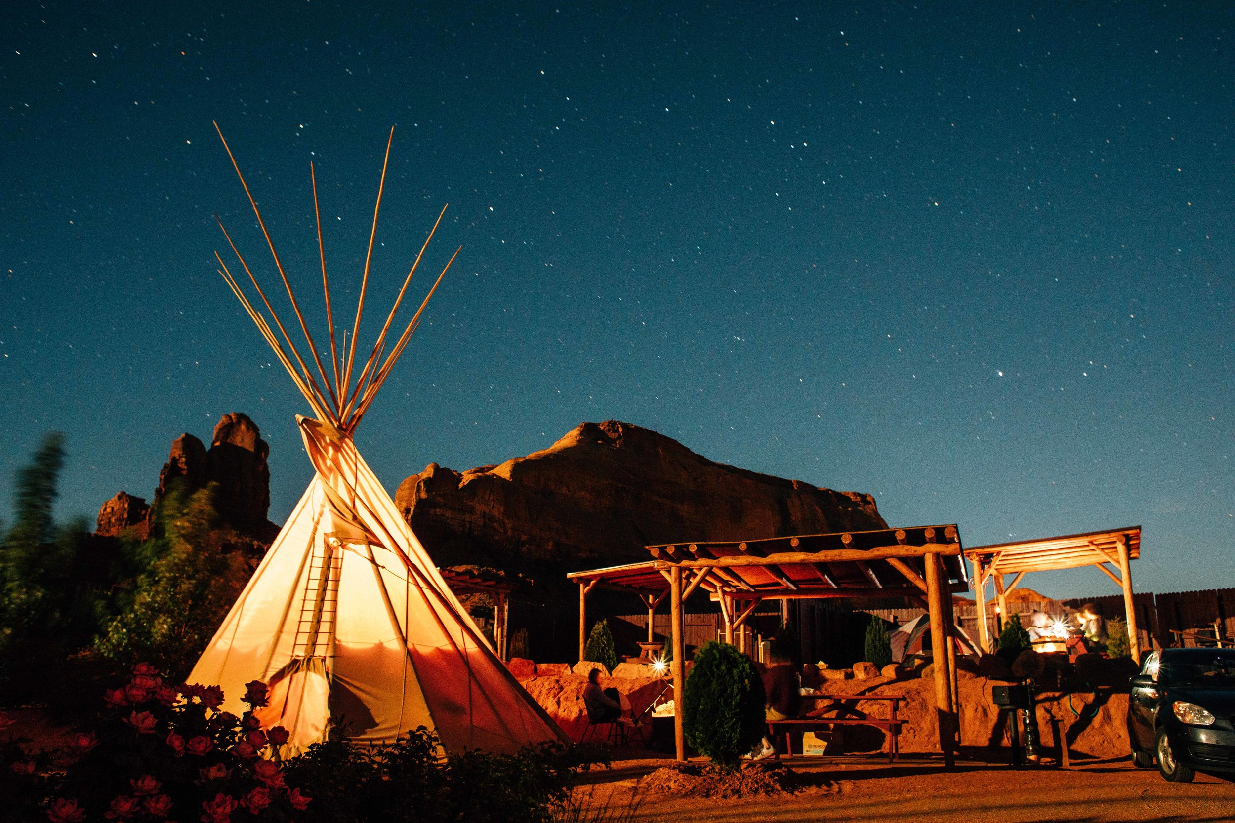 This is where we laid our heads, Monument Valley Tipi Village. Absolute must.