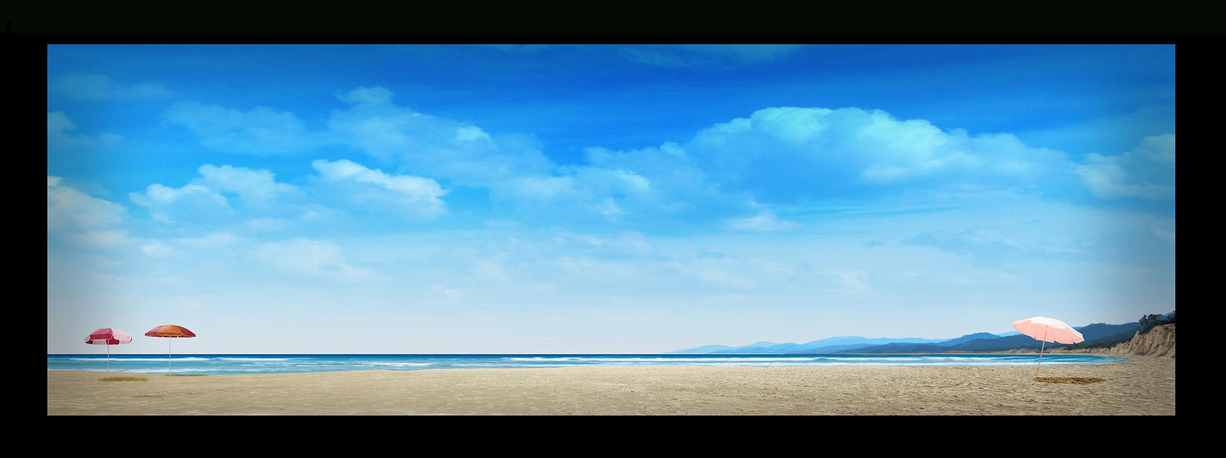 DIGITAL BACKGROUND : SURFIN' SAFARI