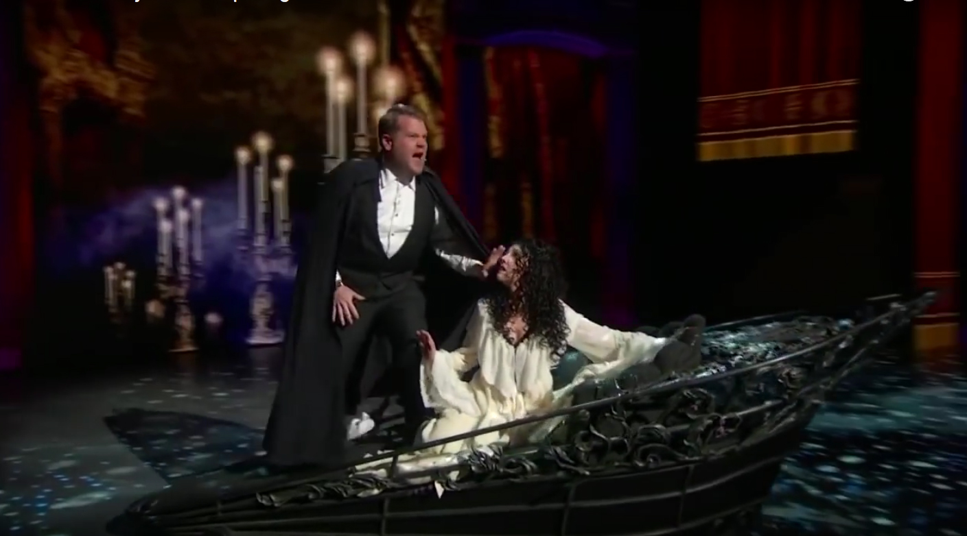 JAMES CORDON IN OPENING NUMBER