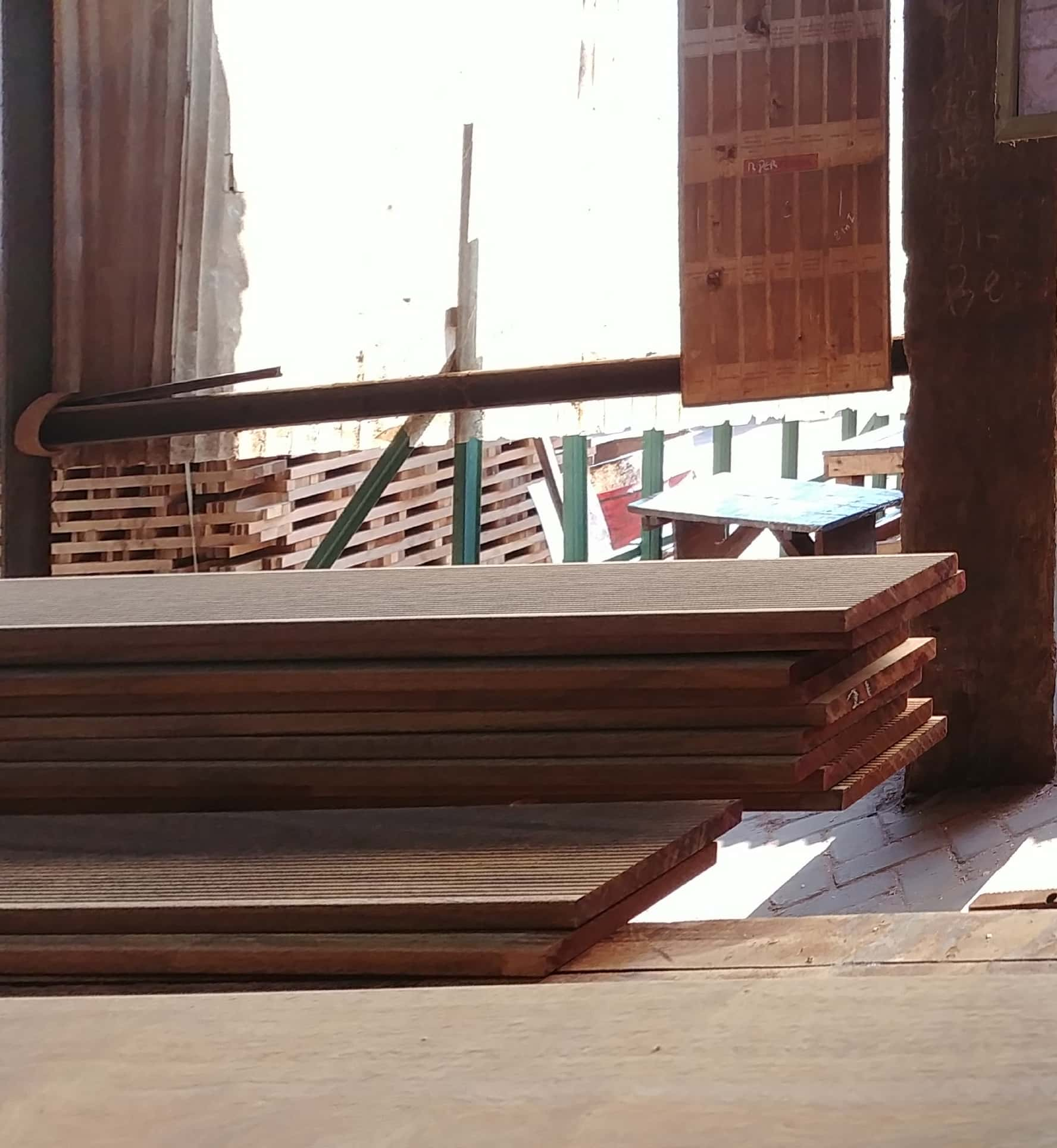 Decking in production
