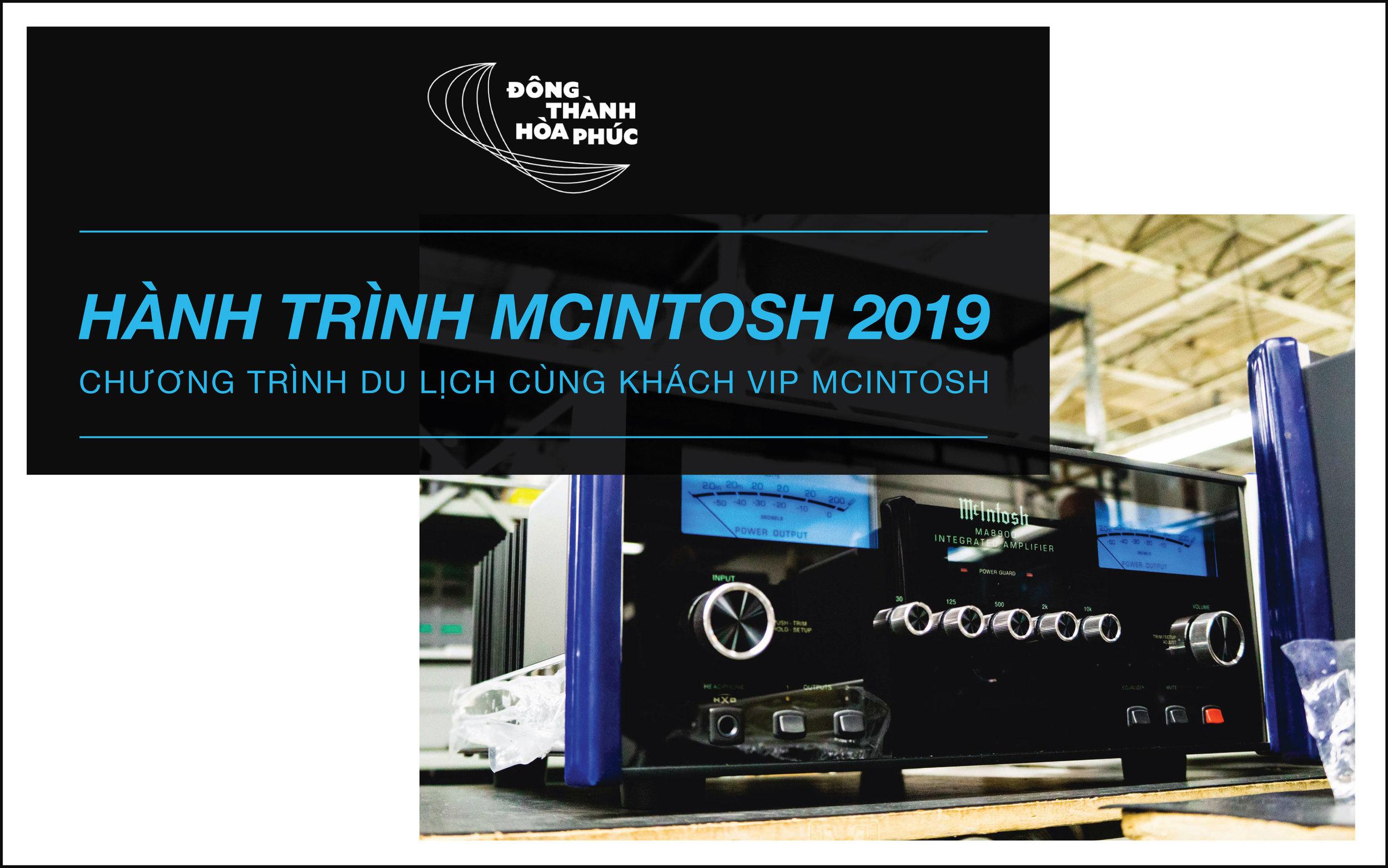 hành trình McIntosh 2019 Đông Thành - Hòa Phúc
