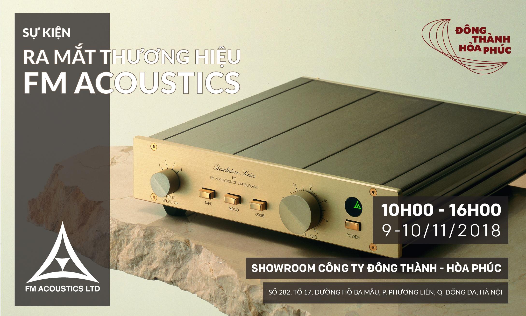 FM Acoustics Đông Thành - Hòa Phúc