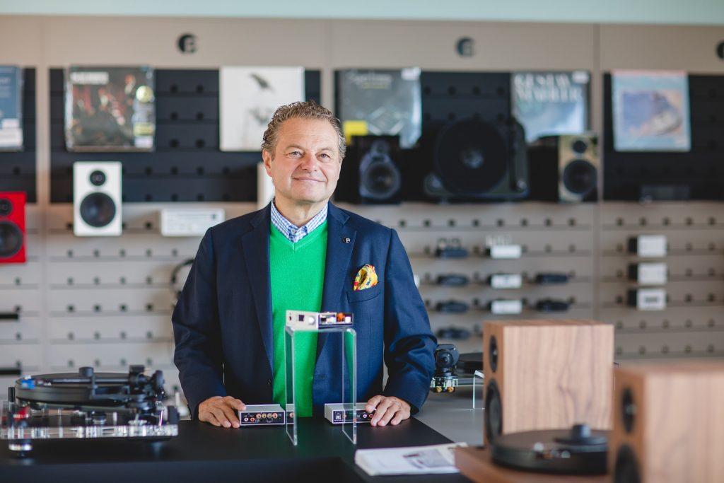 Mr.Heinz Lichtenegger - Nhà sáng lập Pro-Ject Audio