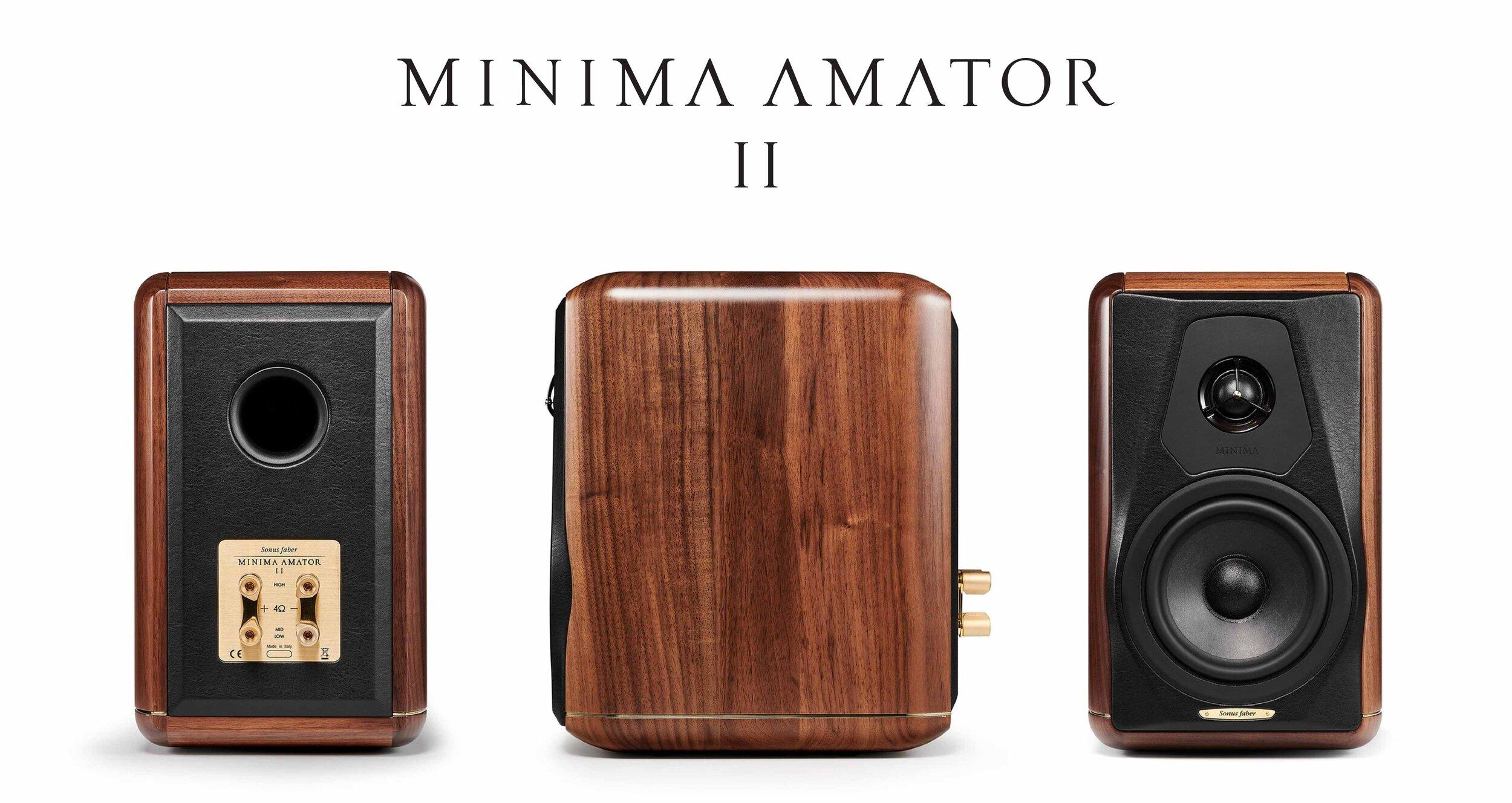 Sonus Faber Minima Amator II — Đông Thành - Hòa Phúc Audio