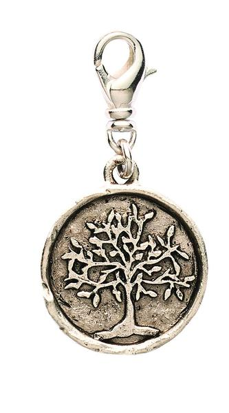 Love this  Stamped Tree Pendant ! You can add it to any wrap bracelet!