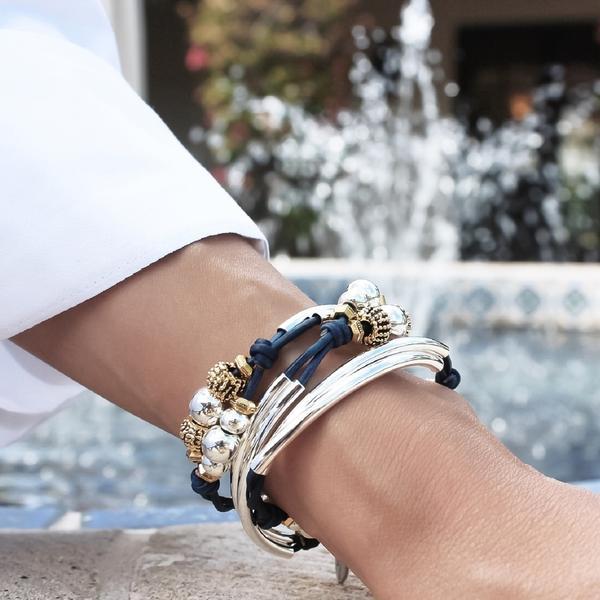 The Paris  wrap bracelet is the perfect travel accessory.