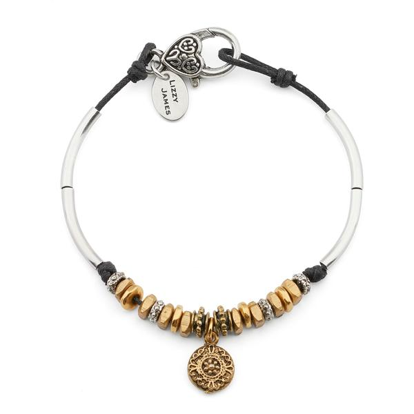 The  Bonnie Anklet  comes with an ancient dotted gold charm.