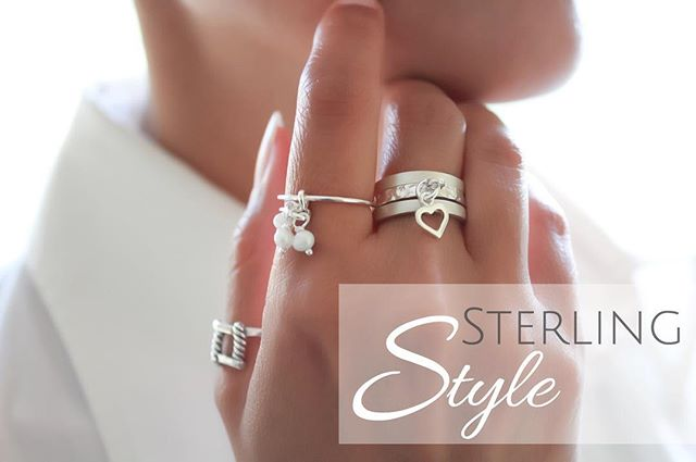 Click the photo to look at the whole sterling silver ring  collection .