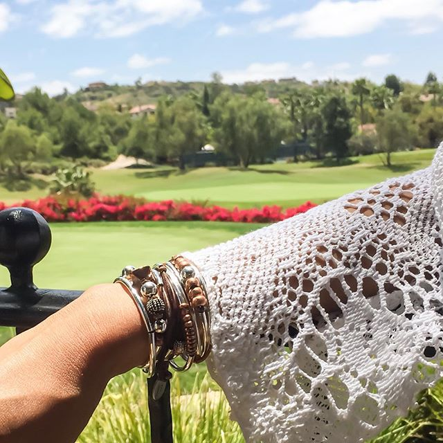 Mother's Day relaxation with the  Rita  and  Mini Kiki  wrap bracelets.